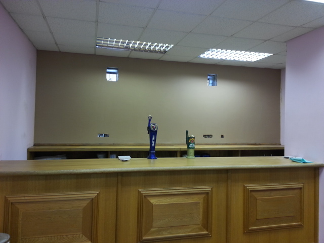 Birmingham Community Centre: Removing damp and creating a new bar